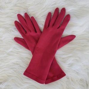 Gap Smooth Pink Wrist Gloves